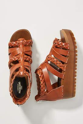 Swedish Hasbeens Gladiator Clog Sandals