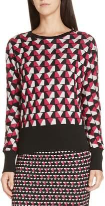 BOSS Estine Geo Pattern Sweater