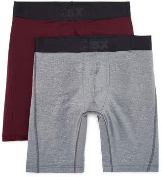 MSX BY MICHAEL STRAHAN MSX by Michael Strahan 2-pk. Performance Long Leg Boxer Briefs - Big & Tall