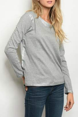 LoveRiche Grey Top