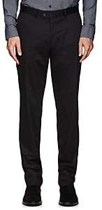 Hiltl Men's Stretch-Cotton Trousers-Black Size 36