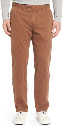 Brax &Evans& Flat Front Chinos $198 thestylecure.com