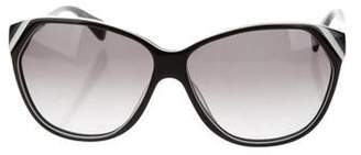 Diane von Furstenberg Addy Cat-Eye Sunglasses