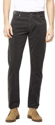 Todd Snyder 5-Pocket Stretch Italian Cord in Charcoal