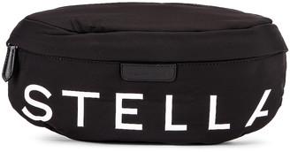 Stella McCartney Falabella Padded Nylon Bum Bag in Black | FWRD