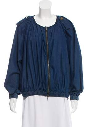 Lanvin x Acne Denim Zip Front Jacket