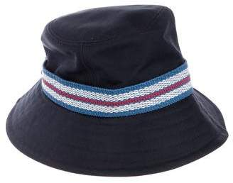 Burberry Stripe-Accented Bucket Hat