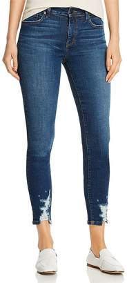 Level 99 Madison Distressed Cropped Jeans in Phase
