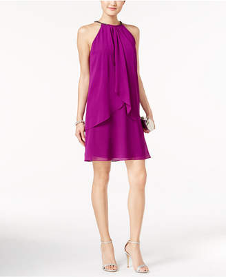 SL Fashions Layered Shift Dress $79 thestylecure.com