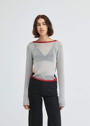 Eckhaus Latta Open Side Sweater