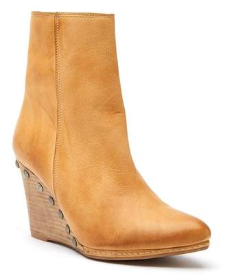 Matisse Viper Leather Wedge Boot