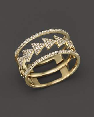 Bloomingdale's Diamond Triple Stack Ring in 14K Yellow Gold, .35 ct. t.w. - 100% Exclusive