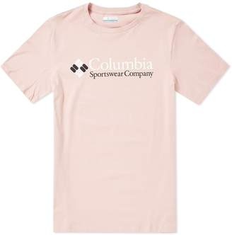 Columbia Two Tone Logo Tee