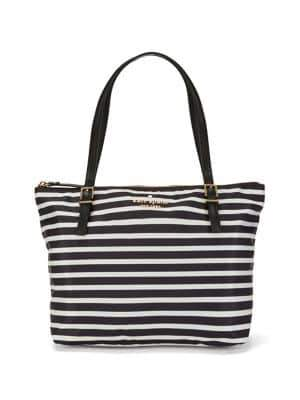 Kate Spade Small Striped Maya Tote