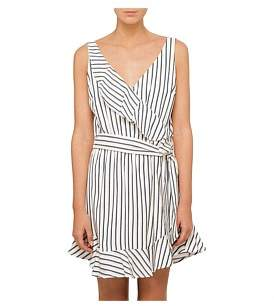GUESS Sleeveless Gianna Ruffle Dress