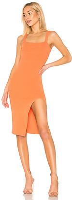 superdown Zoe Square Neck Dress