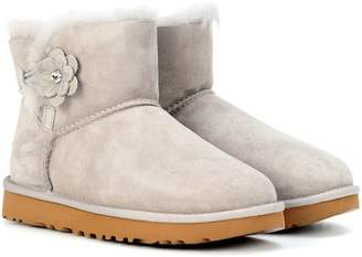 UGG Mini Bailey Petal suede boots
