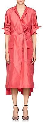 Martin Grant Women's Silk Taffeta Evening Trench Coat