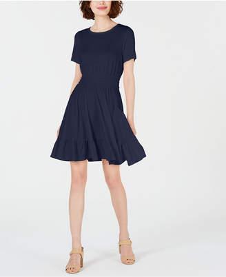 Maison Jules Fit and Flare Mini Dress