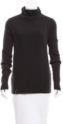 Clu Lace-Up Turtleneck Top w/ Tags