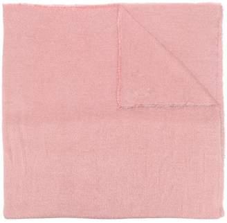 Faliero Sarti frayed edged scarf