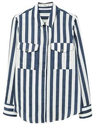 MANGO Striped soft shirt