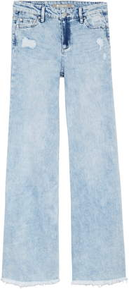 Tractr Golden Year Wide Leg Jeans