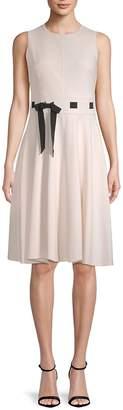 Calvin Klein Women's Sleeveless Knee-Length Dress