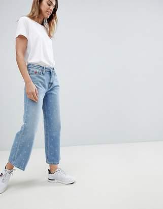 Tommy Hilfiger High Waist Crop Jean With Heart