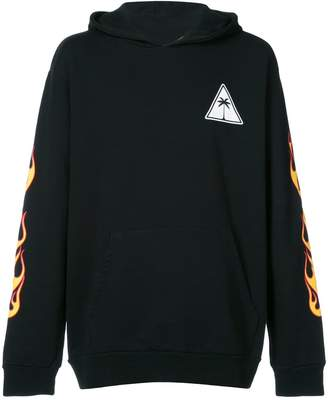 Palm Angels Palm and Flames hoodie