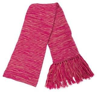Missoni Striped Tassel Scarf