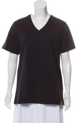 Burberry Short Sleeve V-Neck T-Shirt