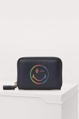 Anya Hindmarch Rainbow Wink wallet