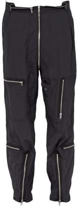 Maison Margiela Biker Zip Pocket Trousers - Mens - Black