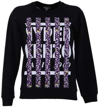 Kenzo Black Patched Sweatshirt