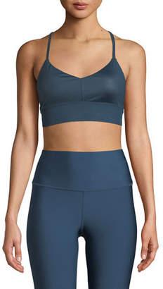 Alo Yoga Lush Strappy-Back Sports Bra