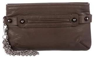 Lanvin Leather Zip Wristlet