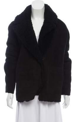 BA&SH Reversible Shearling Coat