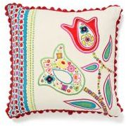 Anthropologie Garden Party Pillow, Tulip