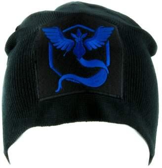 Pokemon YDS Accessories Team Mystic Blue Go Beanie Alternative Style Clothing Knit Cap