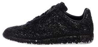 Maison Margiela Glitter Low-Top Sneakers