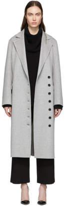 Joseph Grey Double Feather New Signe Coat