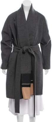 Vionnet Knee-Length Wool Coat