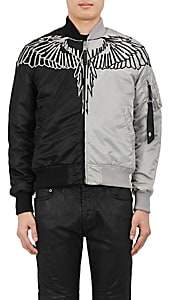 Marcelo Burlon County of Milan MEN'S TALCA MA-1 BOMBER JACKET-BLACK SIZE XL