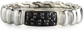 John Hardy Bedeg Lava Slim Band Ring, Size 7
