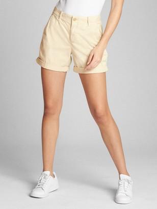 "Gap 5"" Girlfriend Chino Pant Shorts"