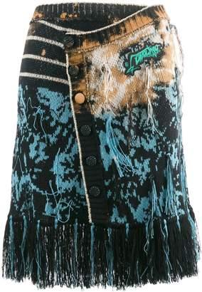Ottolinger knitted wrap skirt