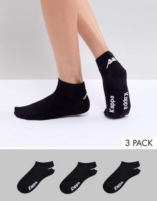 Kappa 3 pack Ankle Socks