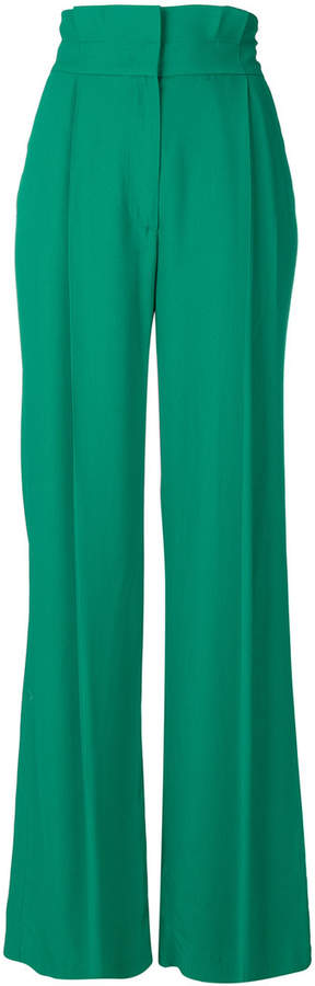 MSGM wide-legged trousers
