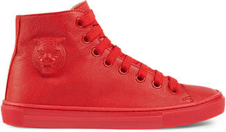 Children's embossed high-top sneaker $410 thestylecure.com
